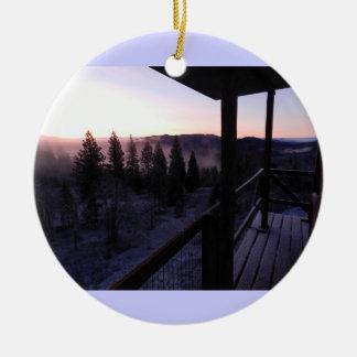 Pickett Butte Fire Lookout Ornaments