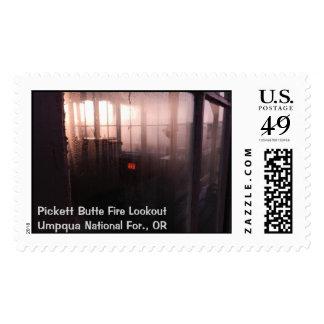 Pickett Butte Fire Lookout Postage