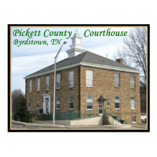 Pickett County Courthouse - Byrdstown, TN Postcard