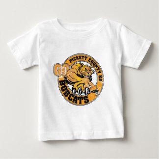 Pickett County K8 Bobcats Baby T-Shirt