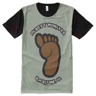 PICKETT MONSTER - Footprint All-Over-Print T-Shirt