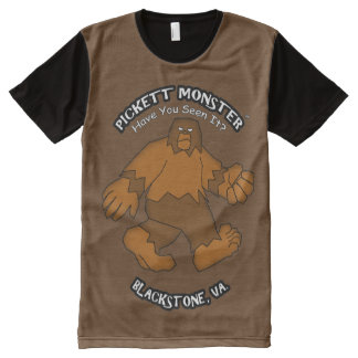 PICKETT MONSTER - Have You Seen It? All-Over-Print Shirt