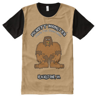 PICKETT MONSTER - Have You Seen Me? All-Over-Print Shirt