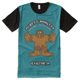 PICKETT MONSTER - Hug Me...I'm Friendly All-Over-Print Shirt