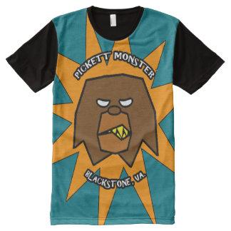 PICKETT MONSTER - STARBURST All-Over-Print T-Shirt
