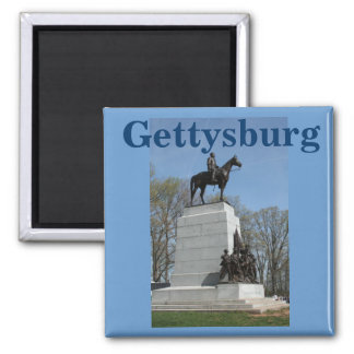 Pickett's Charge at Gettysburg 2 Inch Square Magnet