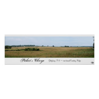 Pickett's Charge Panorama Posters