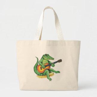 Pickin' Gator Canvas Bags