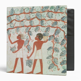 Picking grapes, from the Tomb of Nakht 3 Ring Binder