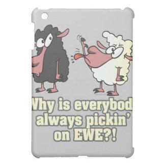 picking on EWE black sheep humor Cover For The iPad Mini