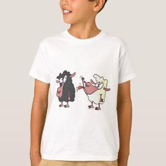 picking on the black sheep cartoon T-Shirt