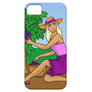 Picking the grapes iPhone SE/5/5s case