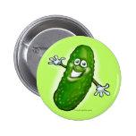 Pickle 2 Inch Round Button