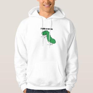 Pickle-a-saurus hoodie