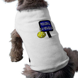 Pickle and a round ball : Play with Relish! Doggie Shirt