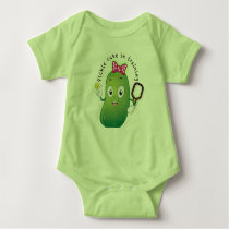 Pickle Baby in Training Baby Bodysuit