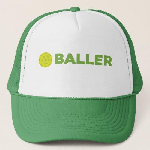 PickleBaller Funny Pickleball Hat