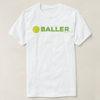 (Pickle)Baller Funny Pickleball Shirt