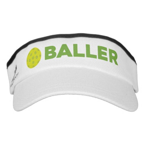 PickleBaller Funny Pickleball Visor