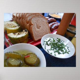 Pickle Bread Print