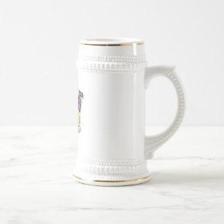pickle character coffee mug