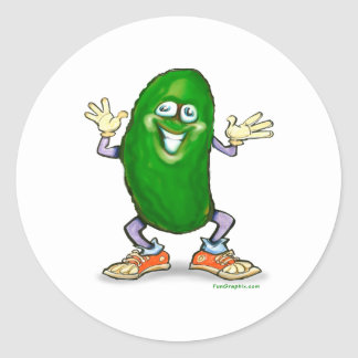 Pickle Classic Round Sticker