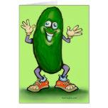 Pickle Greeting Card