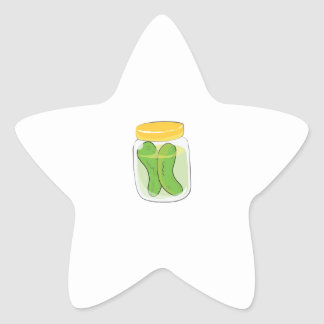 Pickle Jar Stickers