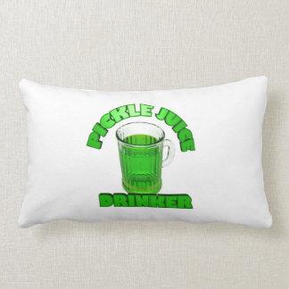 Pickle Juice Drinker Pillow