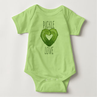 Pickle Love Baby Bodysuit