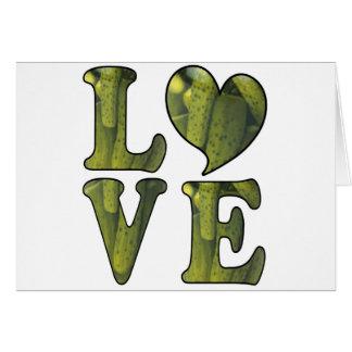 Pickle LOVE Greeting Card