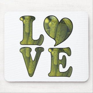 Pickle LOVE Mouse Pad