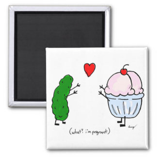 Pickle Loves Ice Cream Magnet