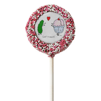 Pickle Loves Ice Cream Oreo Cookies/ Cookie Pops