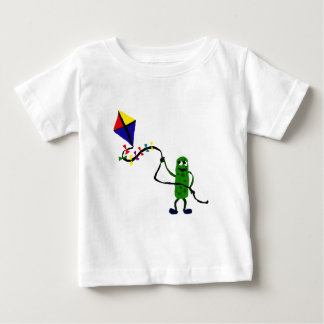Pickle Man Flying Kite Baby T-Shirt
