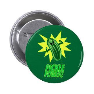 Pickle Power! Pinback Button