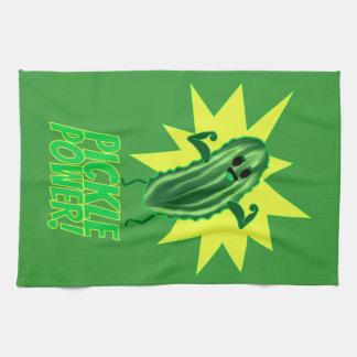 Pickle Power! Kitchen Towel