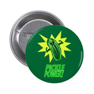 Pickle Power! Pinback Button