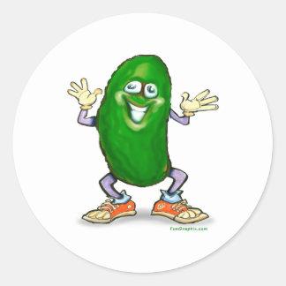 Pickle Round Sticker