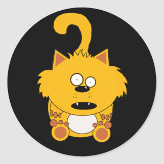 Pickle the naughty kitty Sticker