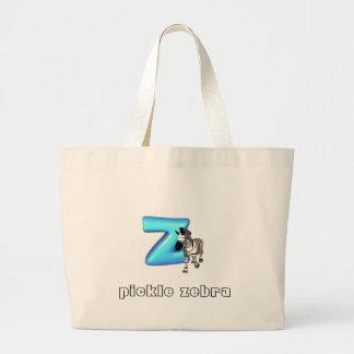 Pickle Zebra Bags
