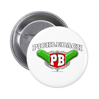 Pickleback Logo Pins