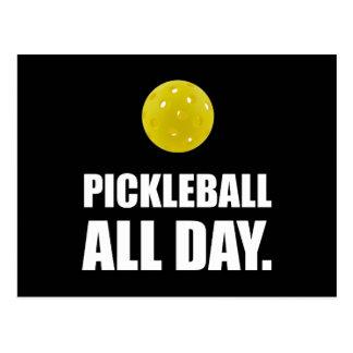 Pickleball All Day Postcard