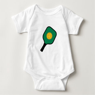 PICKLEBALL AND PADDLE BABY BODYSUIT