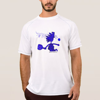 Pickleball as Blue T-Shirt