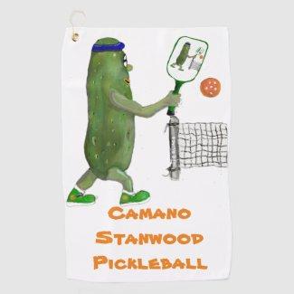 Pickleball Camano Stanwood Players Golf Towel