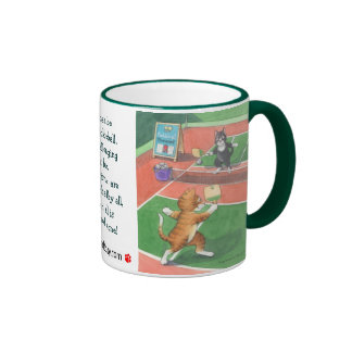Pickleball Cats Bud & Tony Mug
