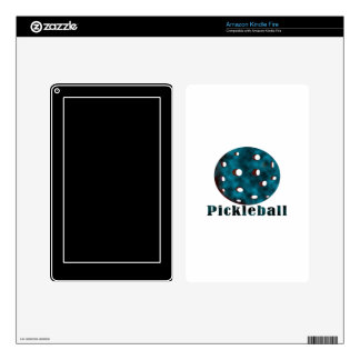 pickleball clouded blue text n ball .png skin for kindle fire