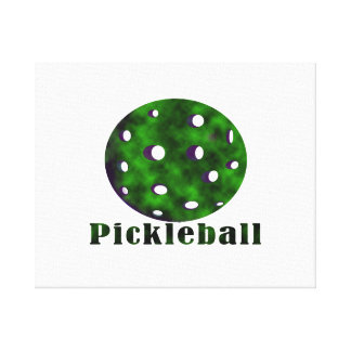 pickleball clouded text n ball green.png canvas print