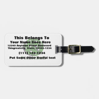 pickleball clouded text n ball green.png luggage tag